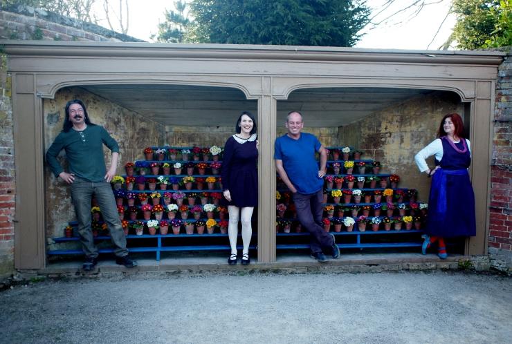 The Auricula Suite Album Launch at Calke Abbey