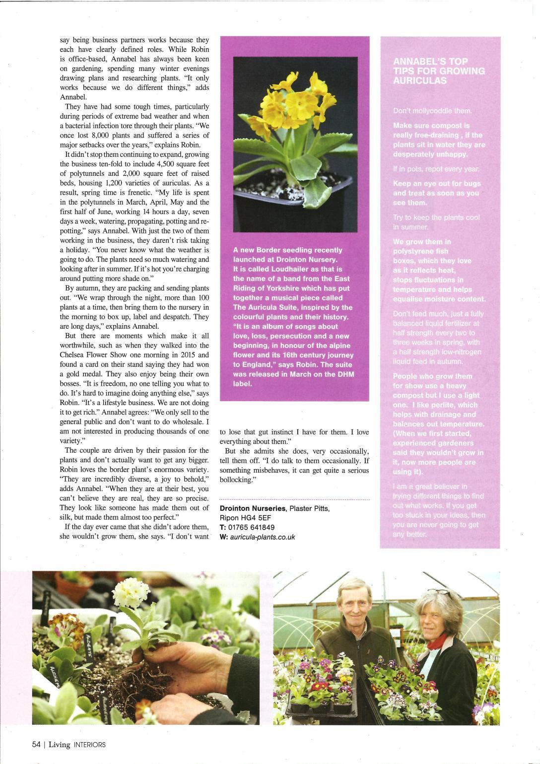 Northern Echo - Living magazine p2