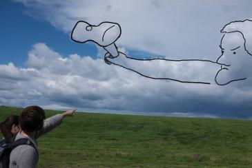 Asa's cloud drawing